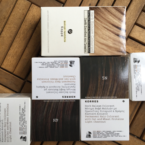 Sfxtriedros Korres Argan Oil Advanced Colorant
